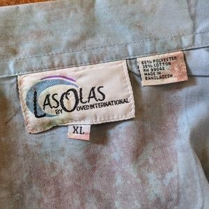 ovedinternational Tops - Beautiful Button Down Casual Shirt 3/4 Sleeves